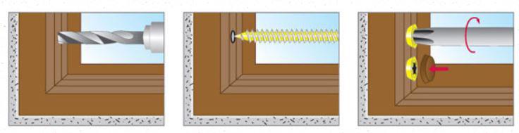 как крепить нагель по бетону